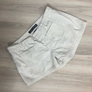 Abercrombie & Fitch button fly tan shorts